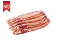 1kg Pack of Un-Smoked Back Bacon - 1KG